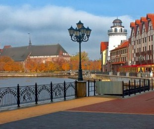 Kaliningrad by bus